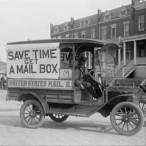 Old-mail-service